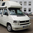 VW Bus Wolke Westfalia Biker